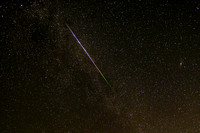 Perseid in Cassiopeia